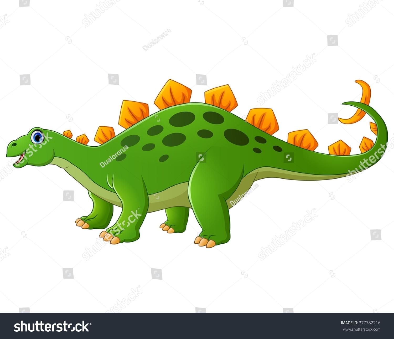 Uncategorized Cute Stegosaurus cute stegosaurus wallskid cartoon stock vector 377782216 shutterstock