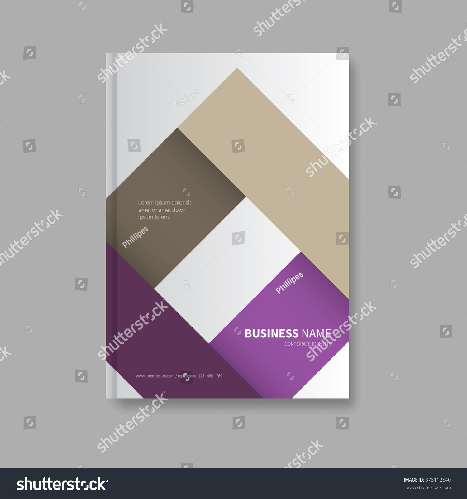 luxury business brochure cover square element in background luxury business brochure cover square element in background annual report corporate professional