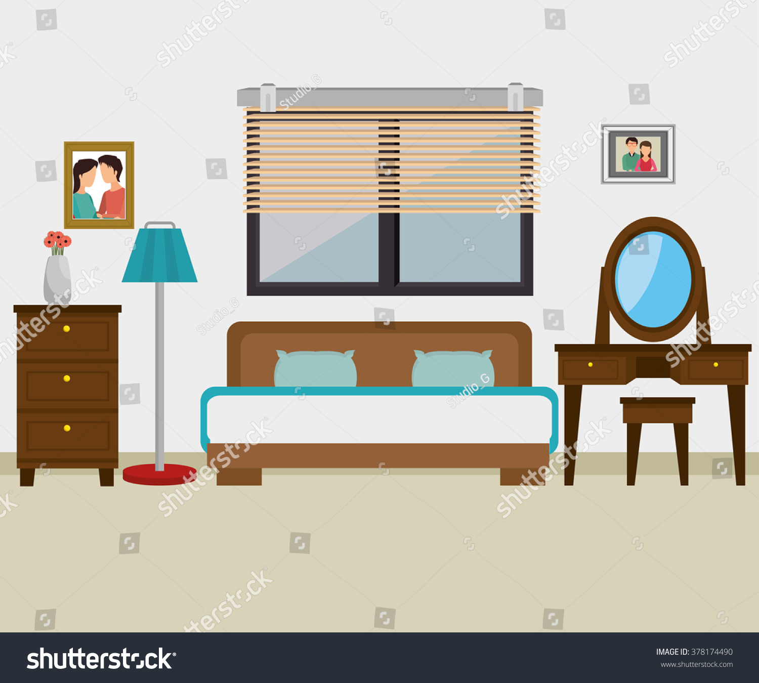 Hotel products services design stock vector 378174490 for Product and service design