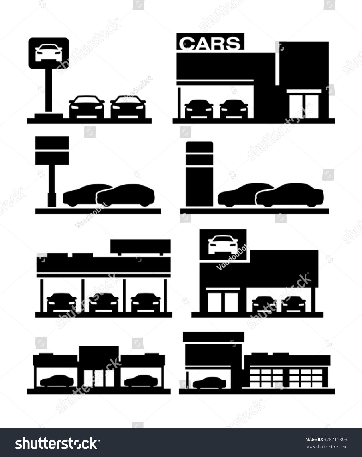 clipart car dealership - photo #27