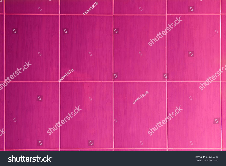 Pink ceramic tile pattern stock photo 378250948 shutterstock pink ceramic tile pattern dailygadgetfo Choice Image