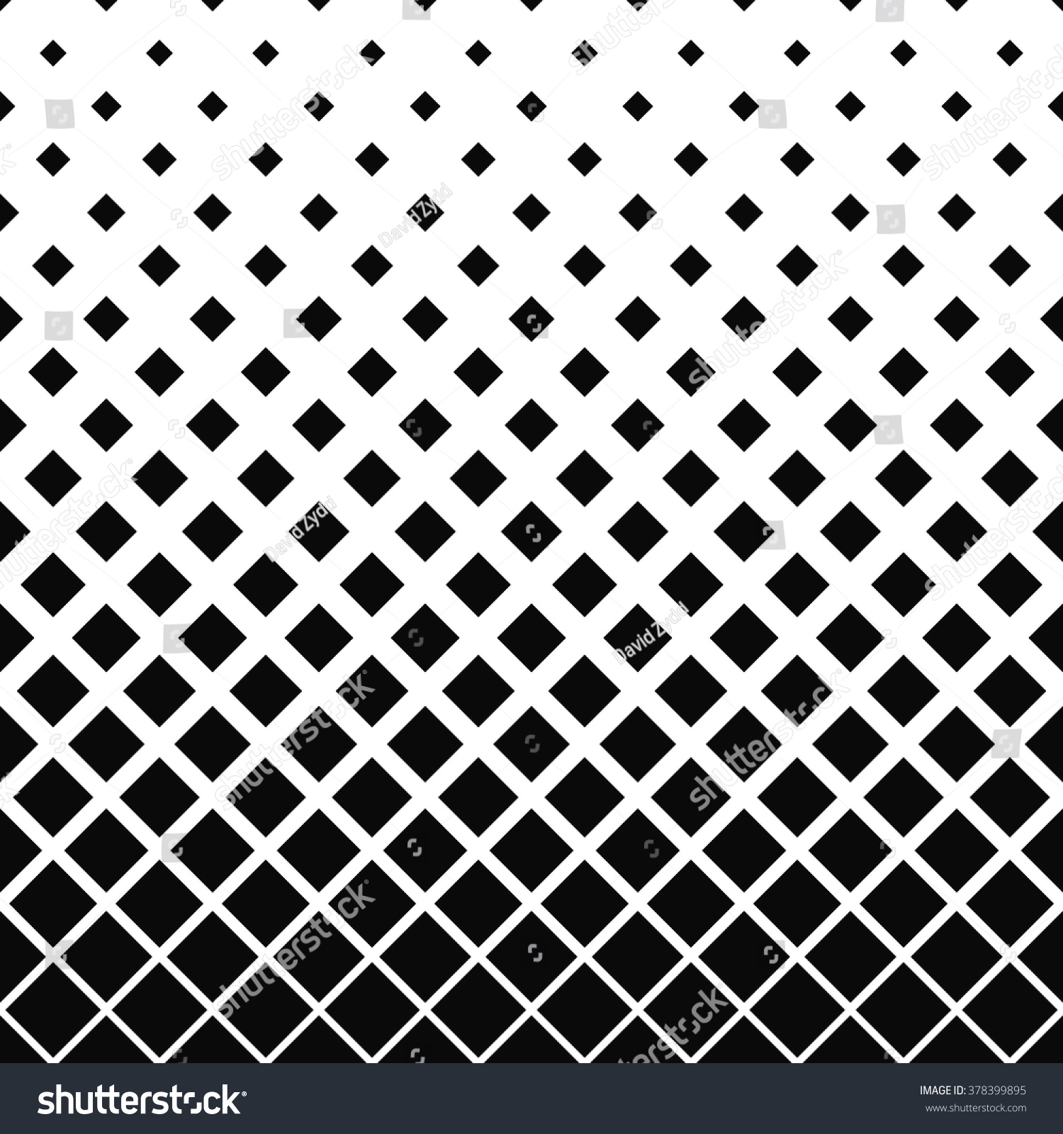 Repeating black and white vector square pattern design background 378399895 shutterstock - Any design using black and white ...
