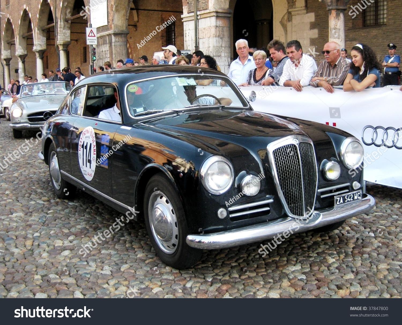 MANTUA SEPTEMBER 18 Lancia 1948 Aurelia Stock Photo (Royalty Free ...