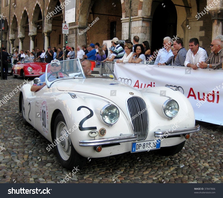 MANTUA SEPTEMBER 18 Jaguar 1950 XK Stock Photo (Edit Now)- Shutterstock