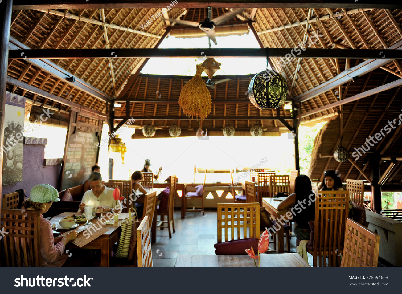 Organic Cafe Ubud Bali Indonesia Stock Photo (Edit Now