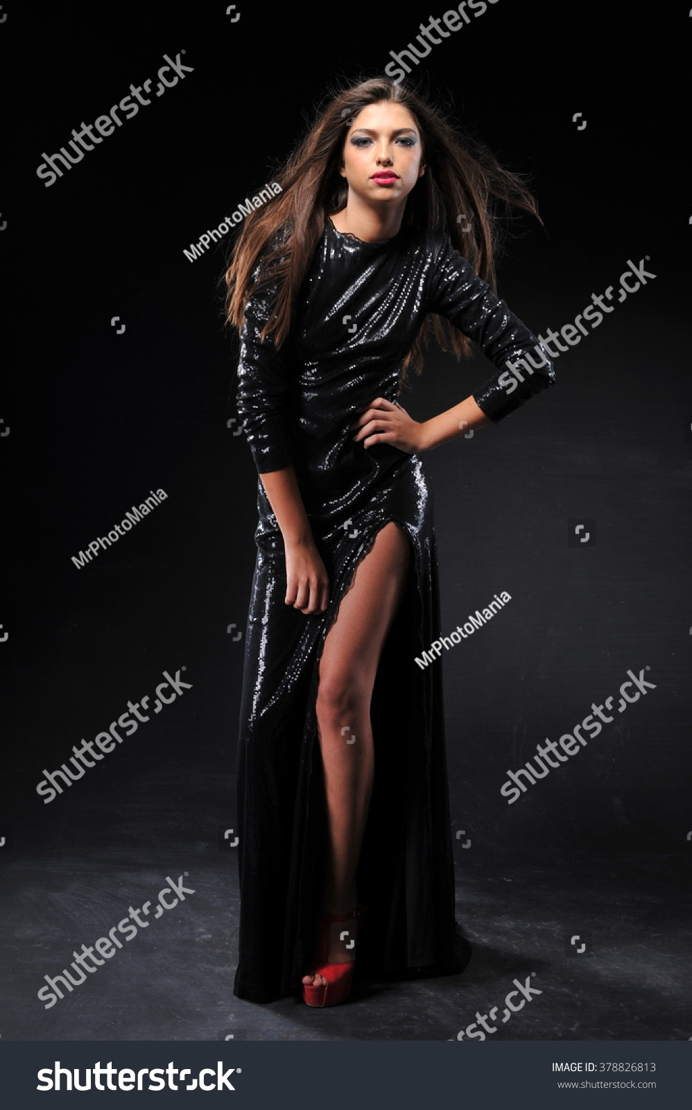 Beautiful long hairs young indian women stock photo for Wonderful black