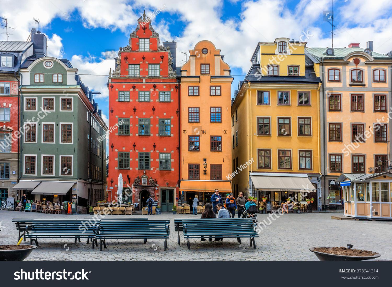 Stockholm ,Sweden Walking travel tour : Old Town, Gamla Stan ...