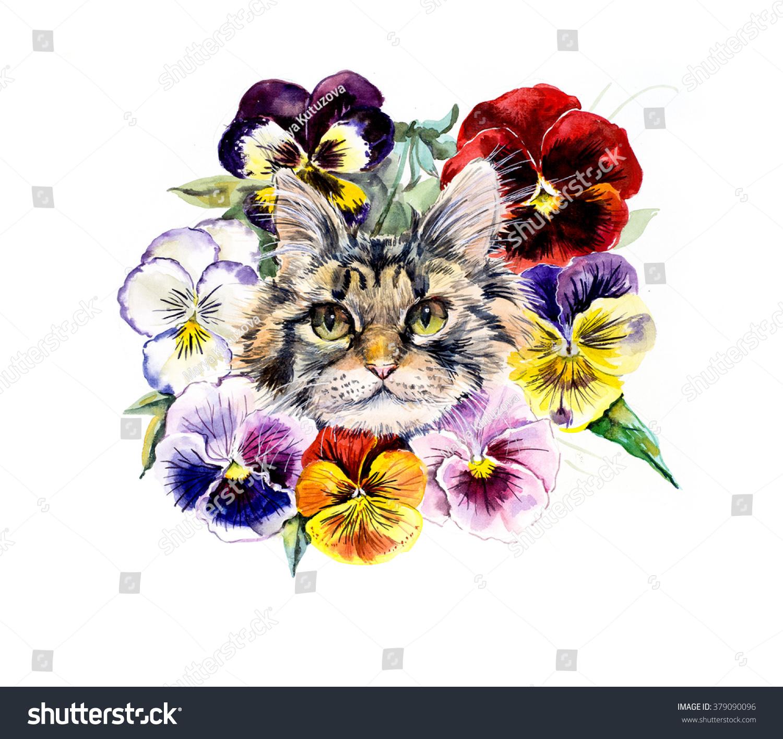 Kitten Flower Bouquet Gallery - Flower Wallpaper HD