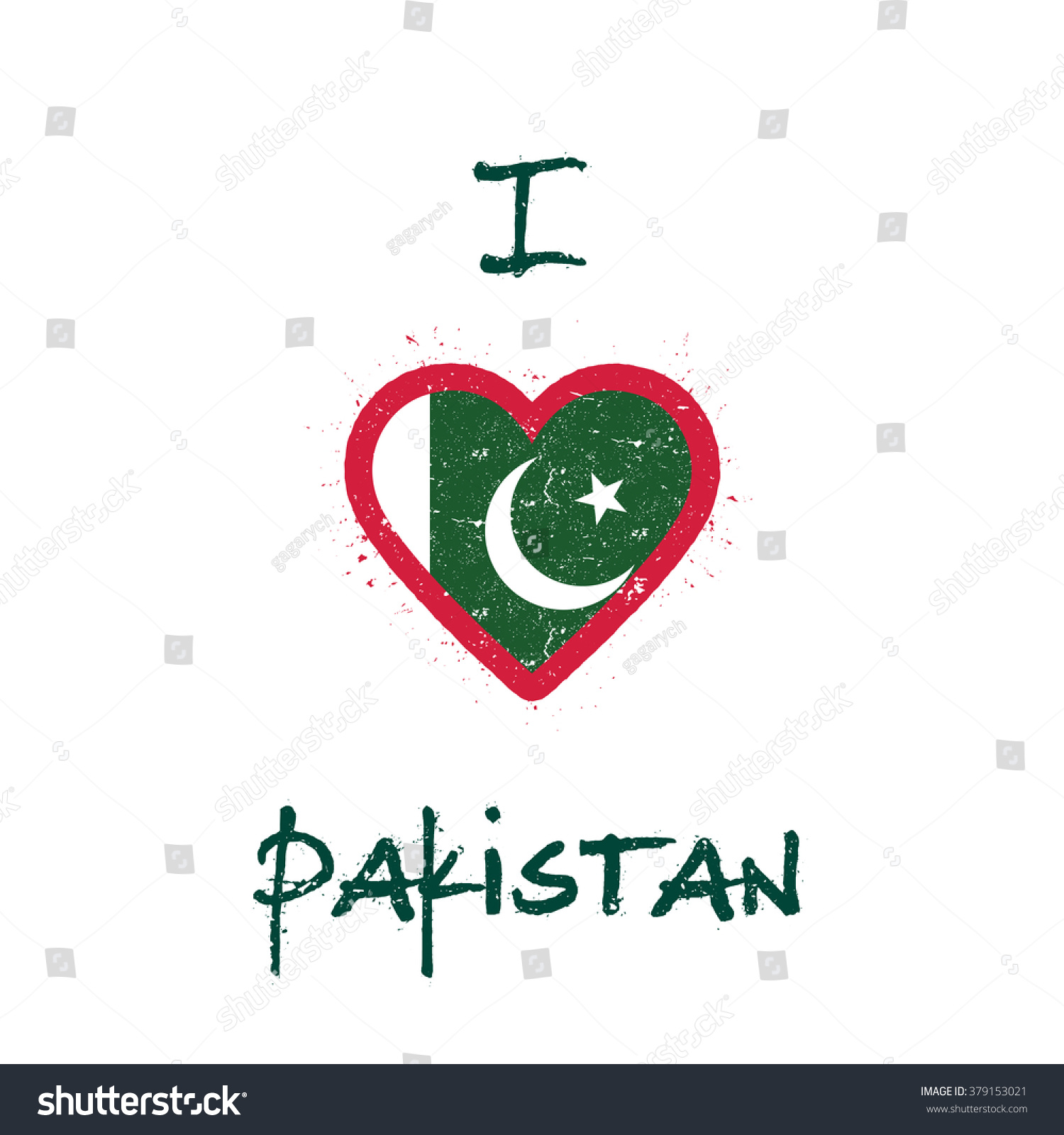 Shirt design ideas pakistani - I Love Pakistan T Shirt Design Pakistan Flag In The Shape Of Heart On
