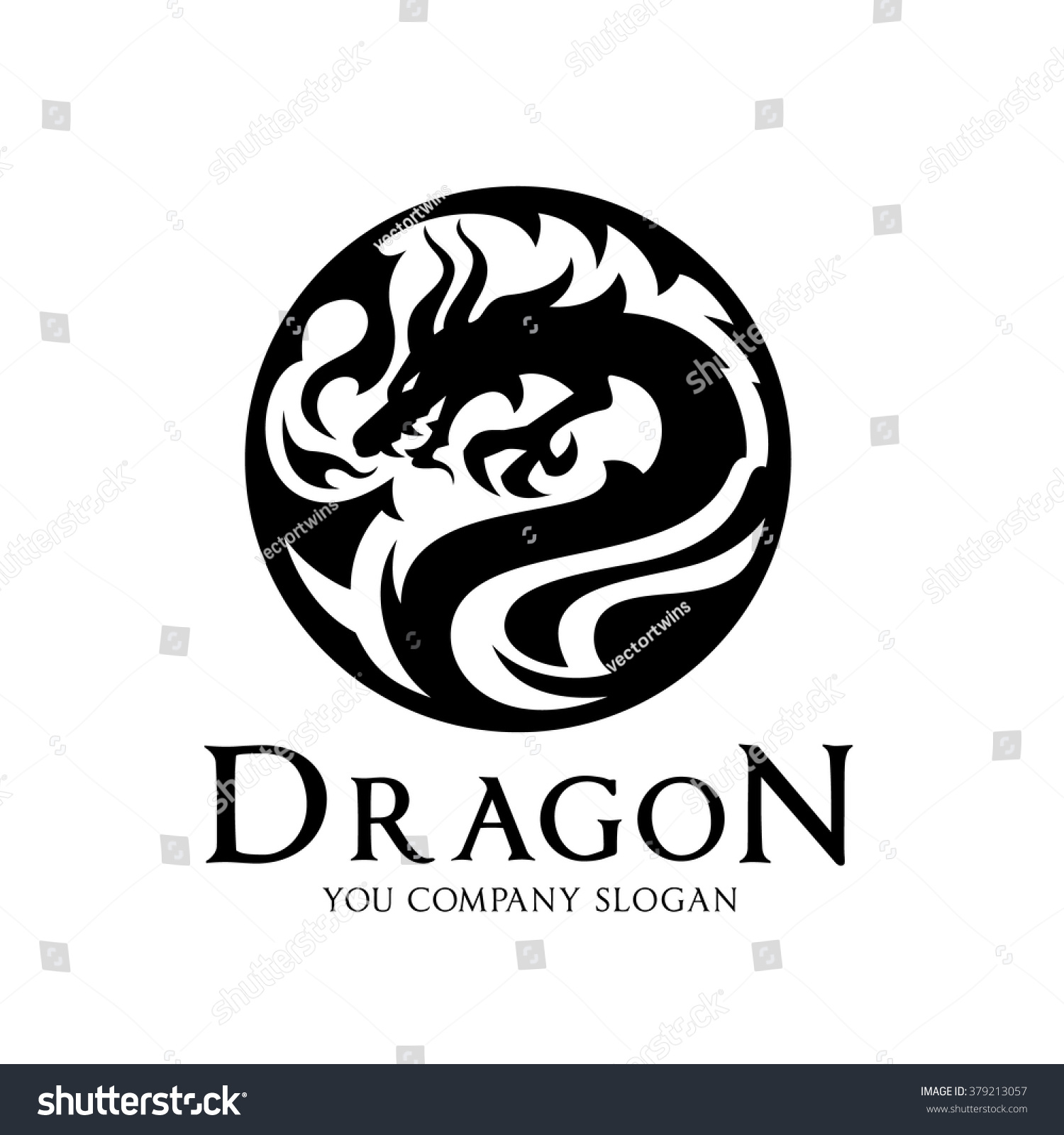 Dragon LogoVector Logo Template