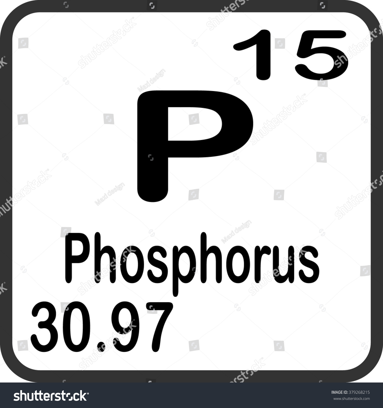 Periodic table of elements phosphorus choice image periodic periodic table elements phosphorus stock vector 379268215 periodic table of elements phosphorus gamestrikefo choice image gamestrikefo Image collections