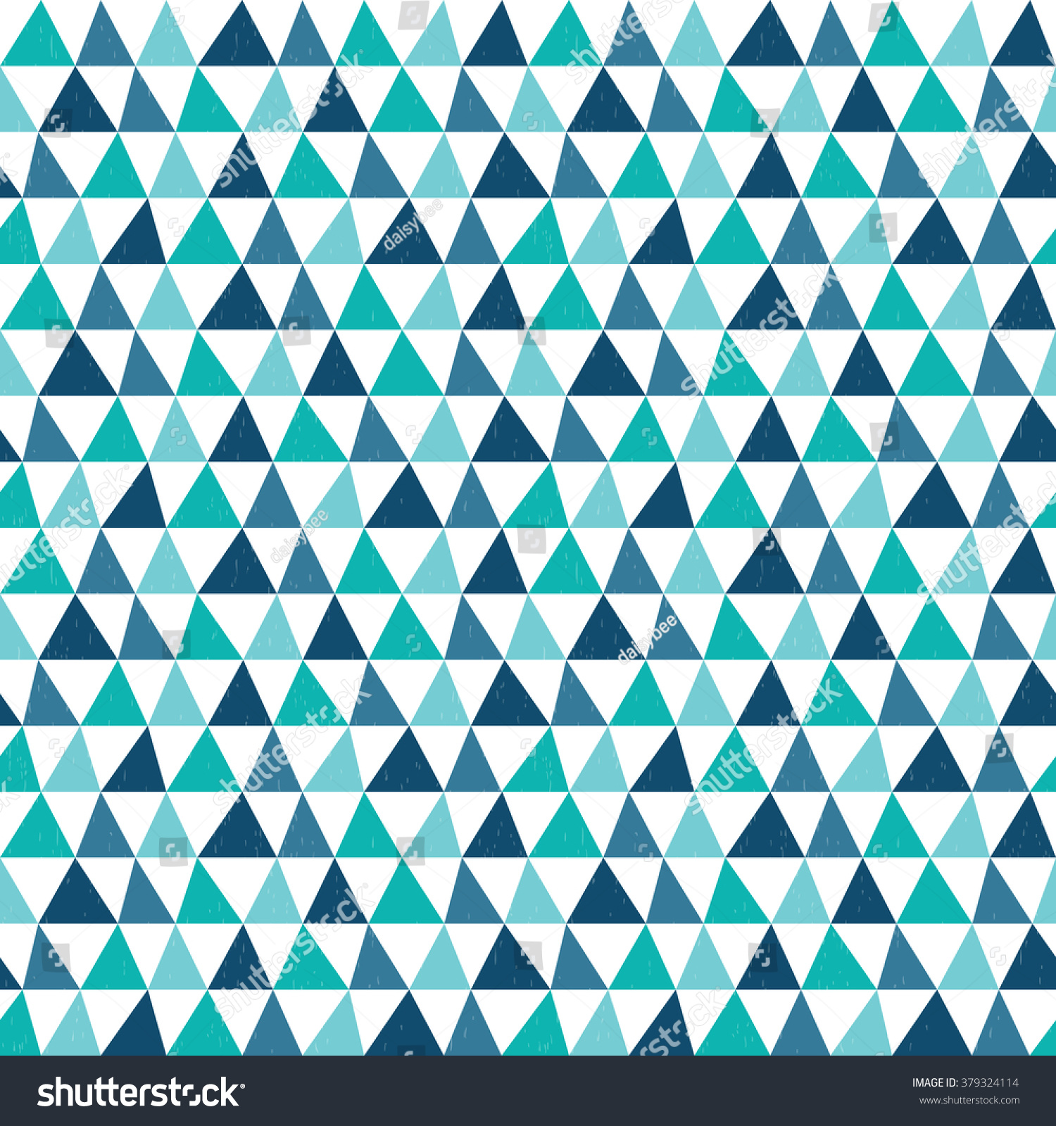 Blue Tribal Wallpapers: Cute Seamless Tribal Geometric Background Pattern Stock