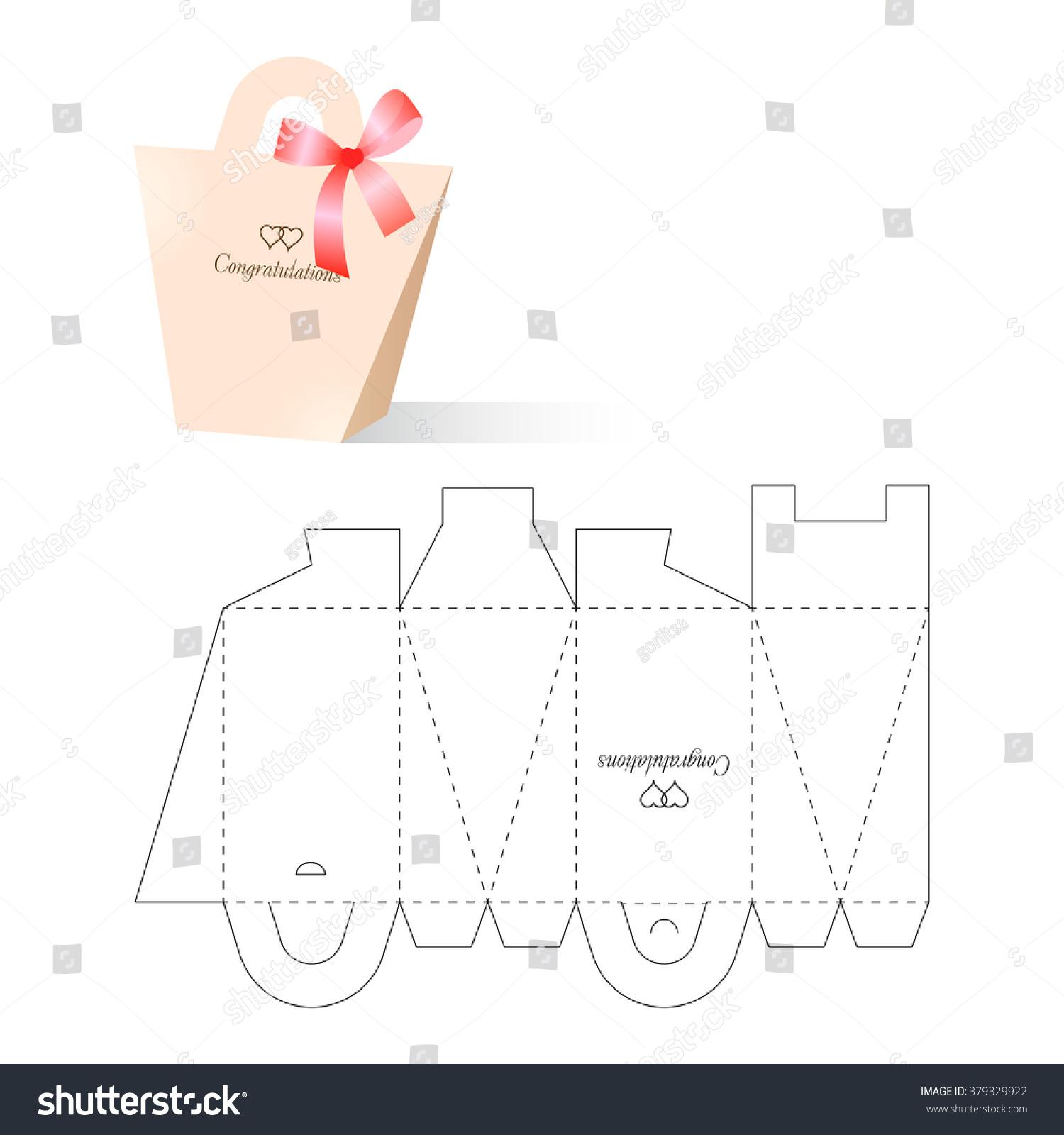 Retail box blueprint template vectores en stock 379329922 shutterstock malvernweather Images