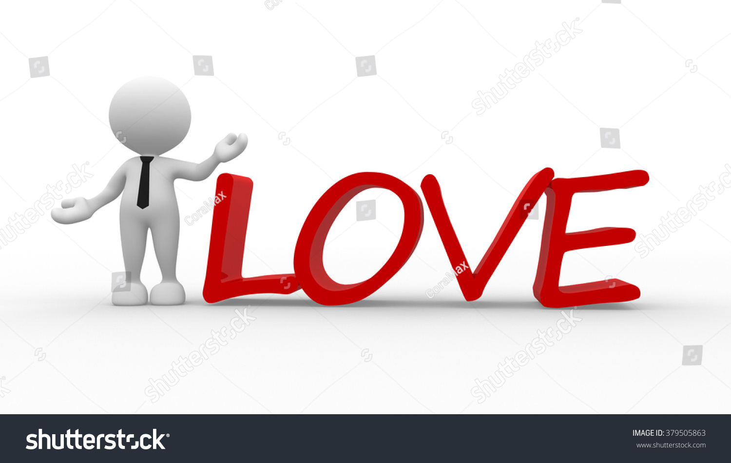 D People Man Person Word Love Stock Il Ration  Shutterstock