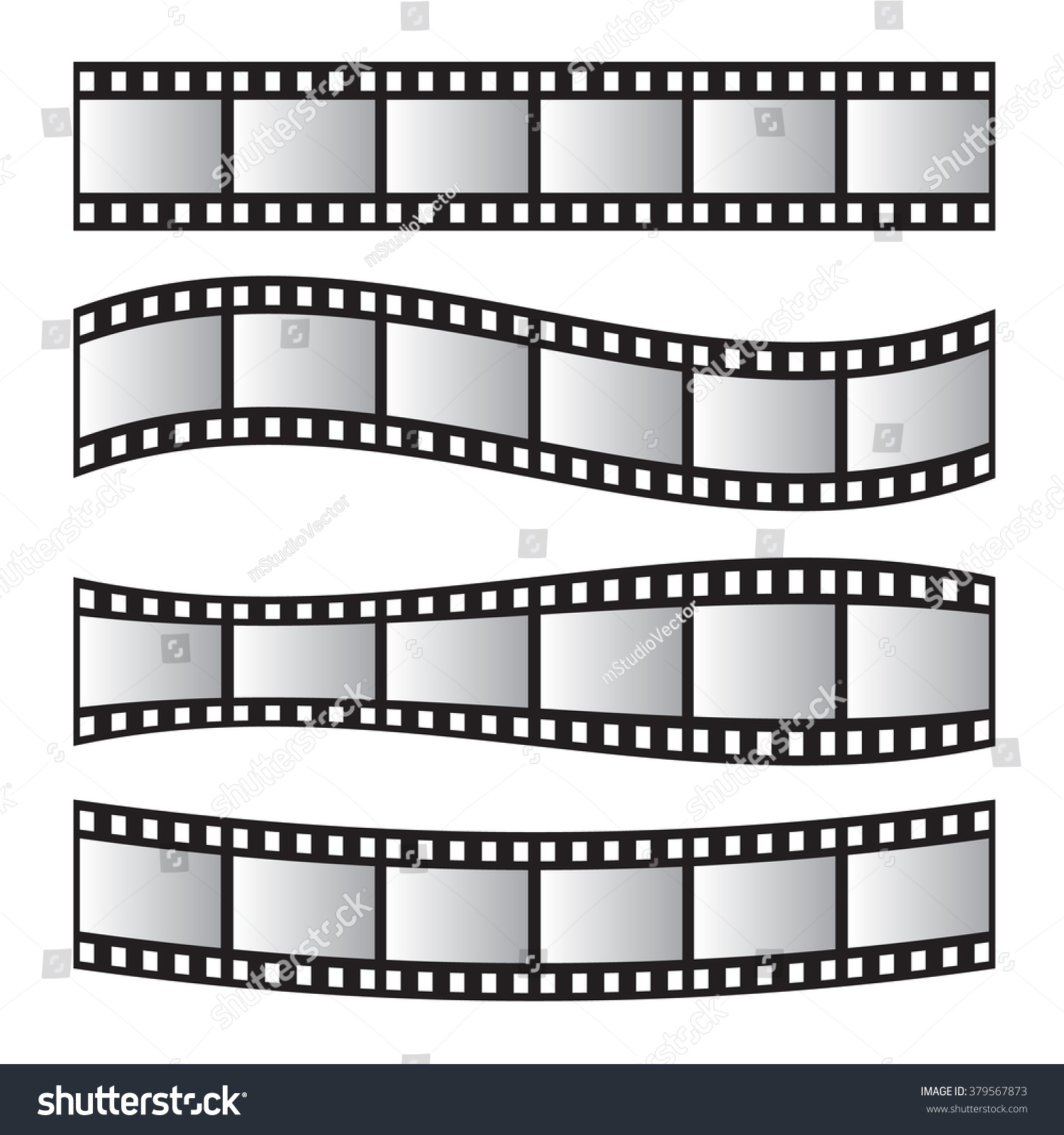 Film roll vector film 35mm slide stock vector 379567873 shutterstock film roll vector film 35mm slide film frame set negative and strip jeuxipadfo Image collections