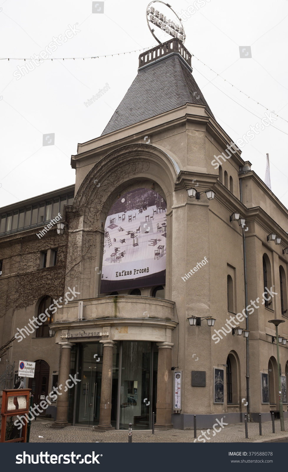 Berlin February 18 Berliner Ensamble Theater Stock Photo