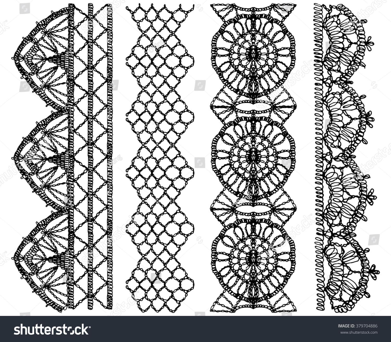 Openwork patterns crochet