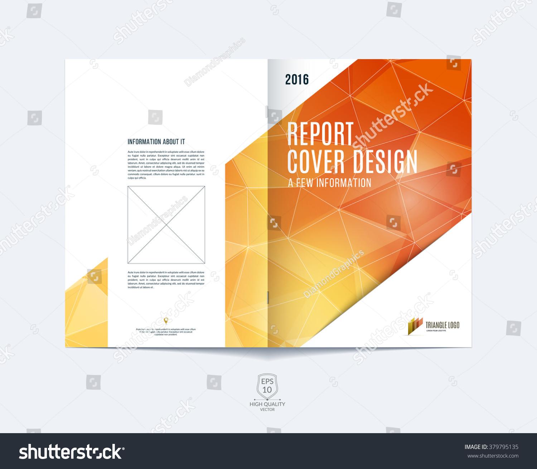 Brochure Template Layout Cover Design Annual Stock-Vektorgrafik ...