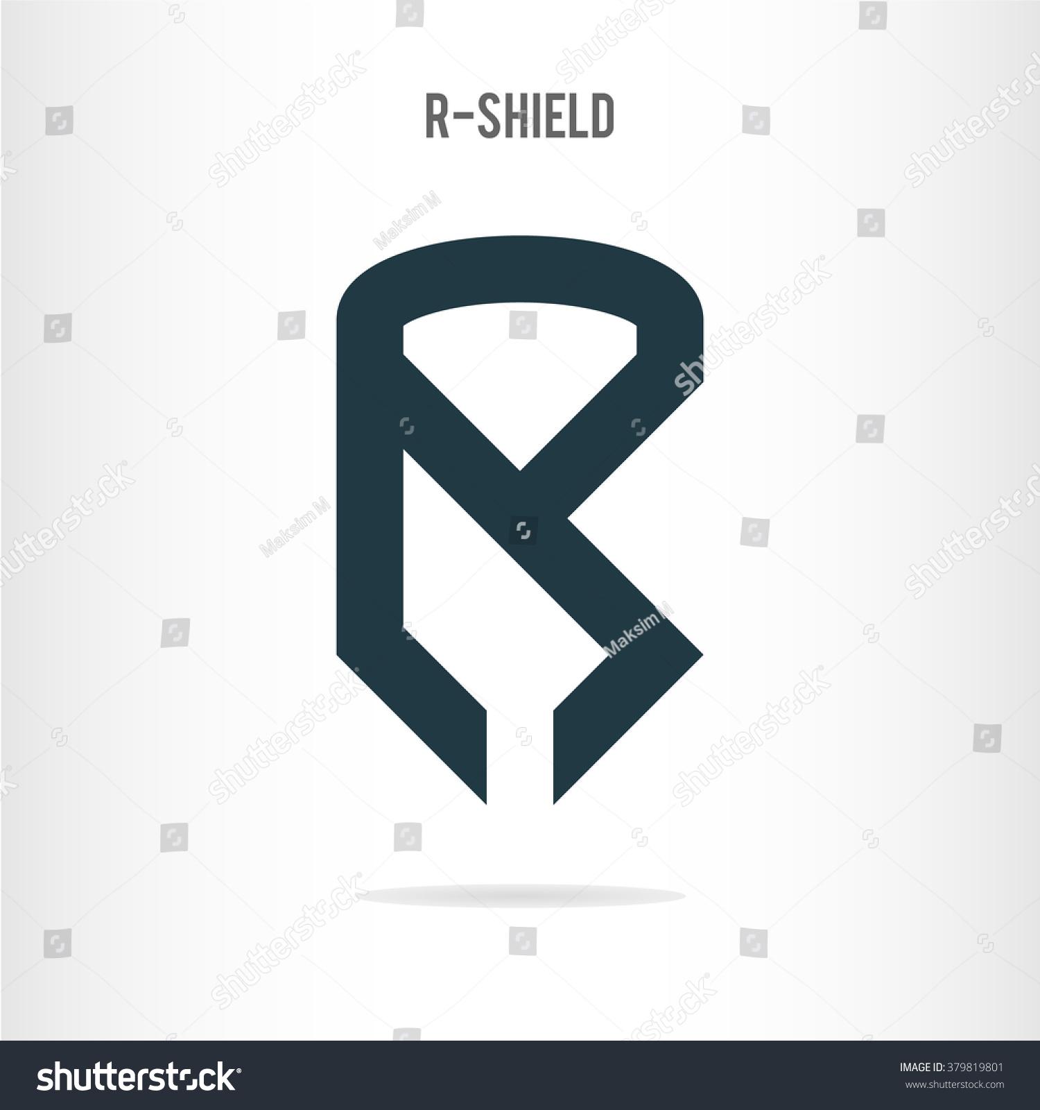 Letter R Logo Template Letter R Stock Vector Shutterstock