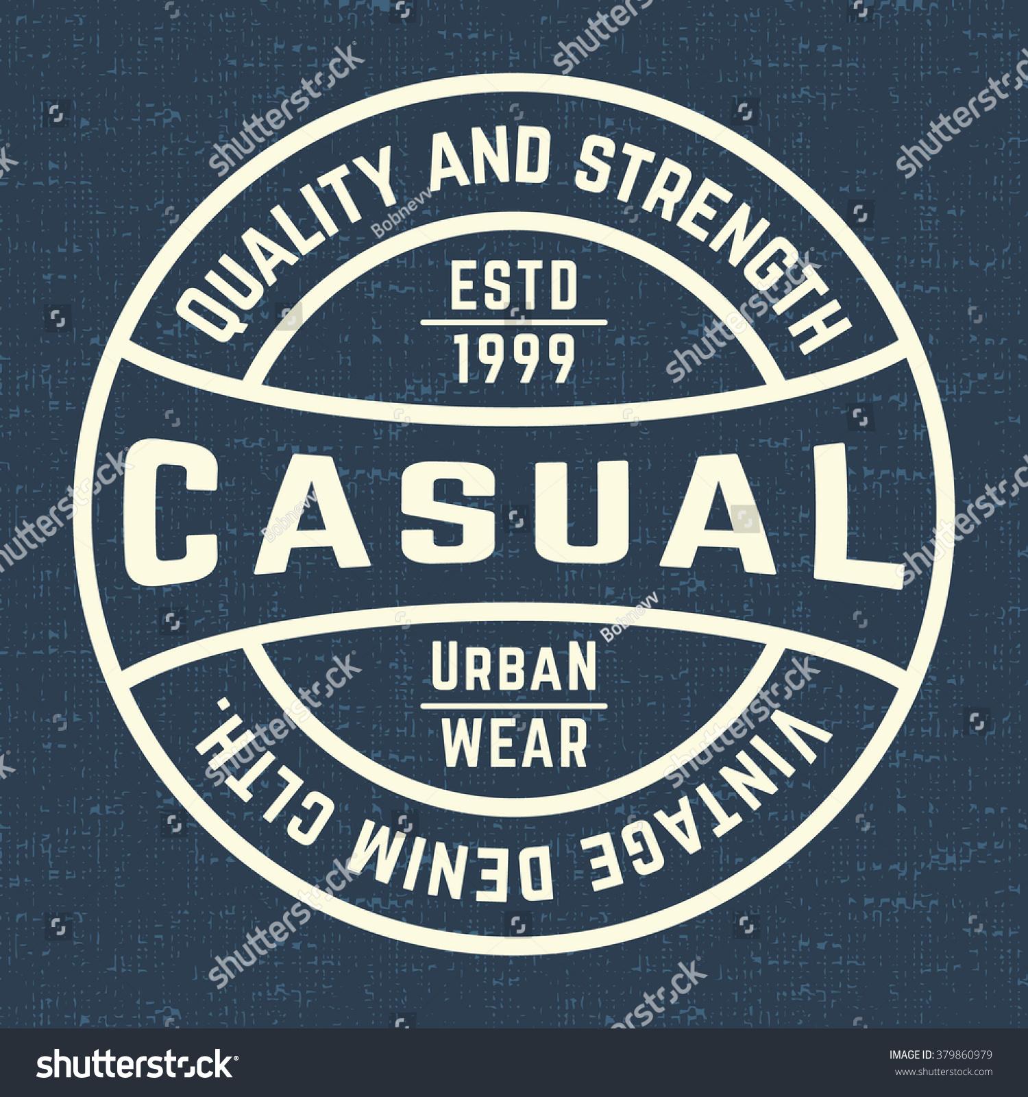Design t shirt label - T Shirt Print Design Denim Vintage Stamp Printing And Badge Applique Label T