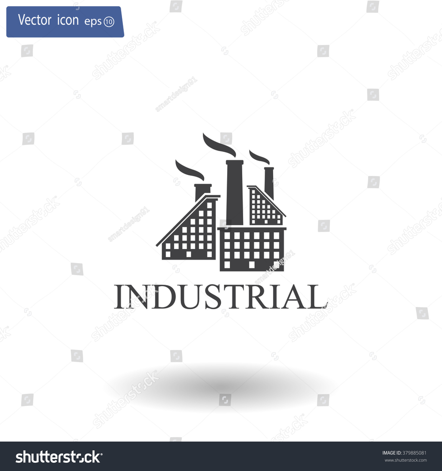 industrial building factory signs and symbols