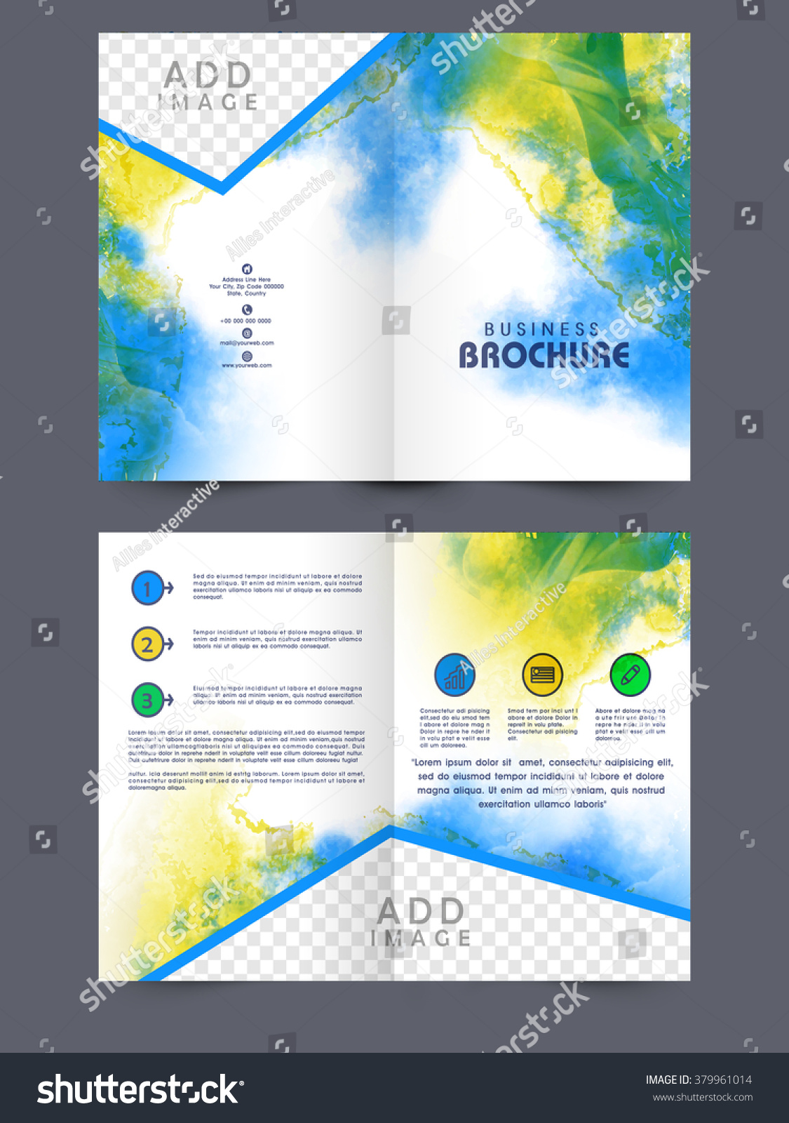 Creative Page Layout Design Pasoevolistco - Two page brochure template