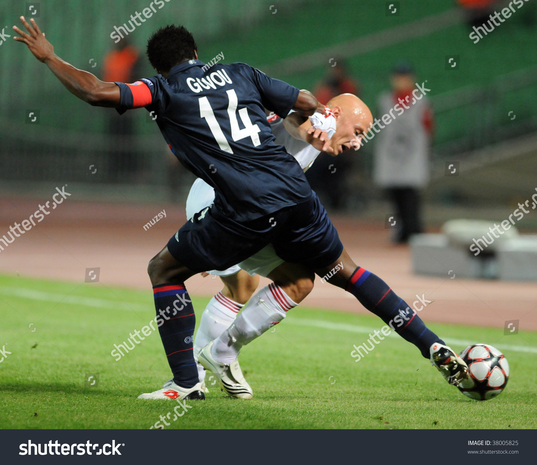 Debrecen Vs Liverpool Uefa Champions League Match: Budapest September 29 Govou 77 Varga Stock Photo 38005825