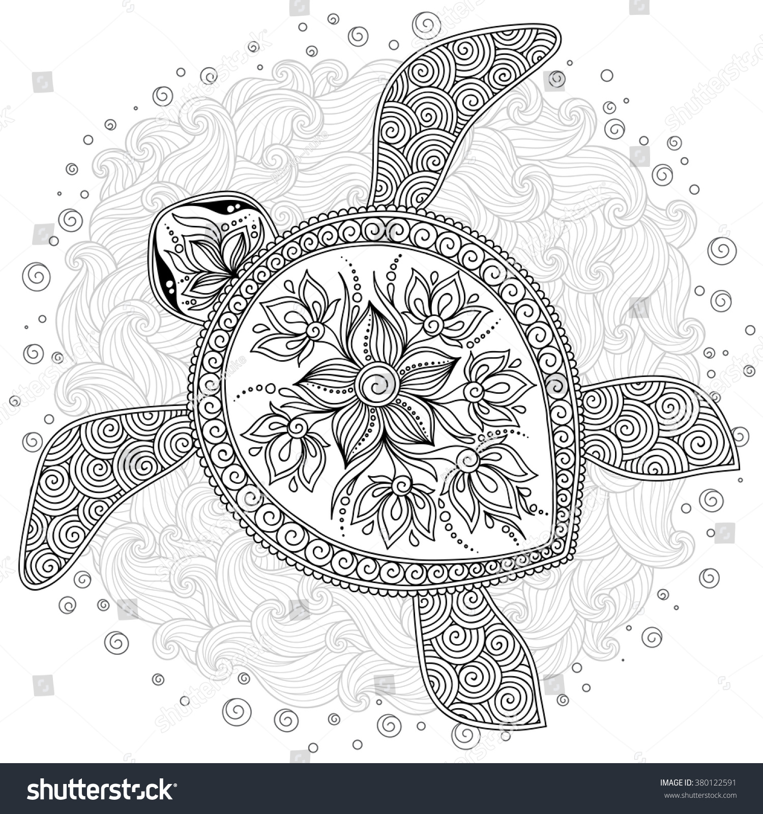 pattern coloring pages for kids - pattern coloring book coloring book pages stock