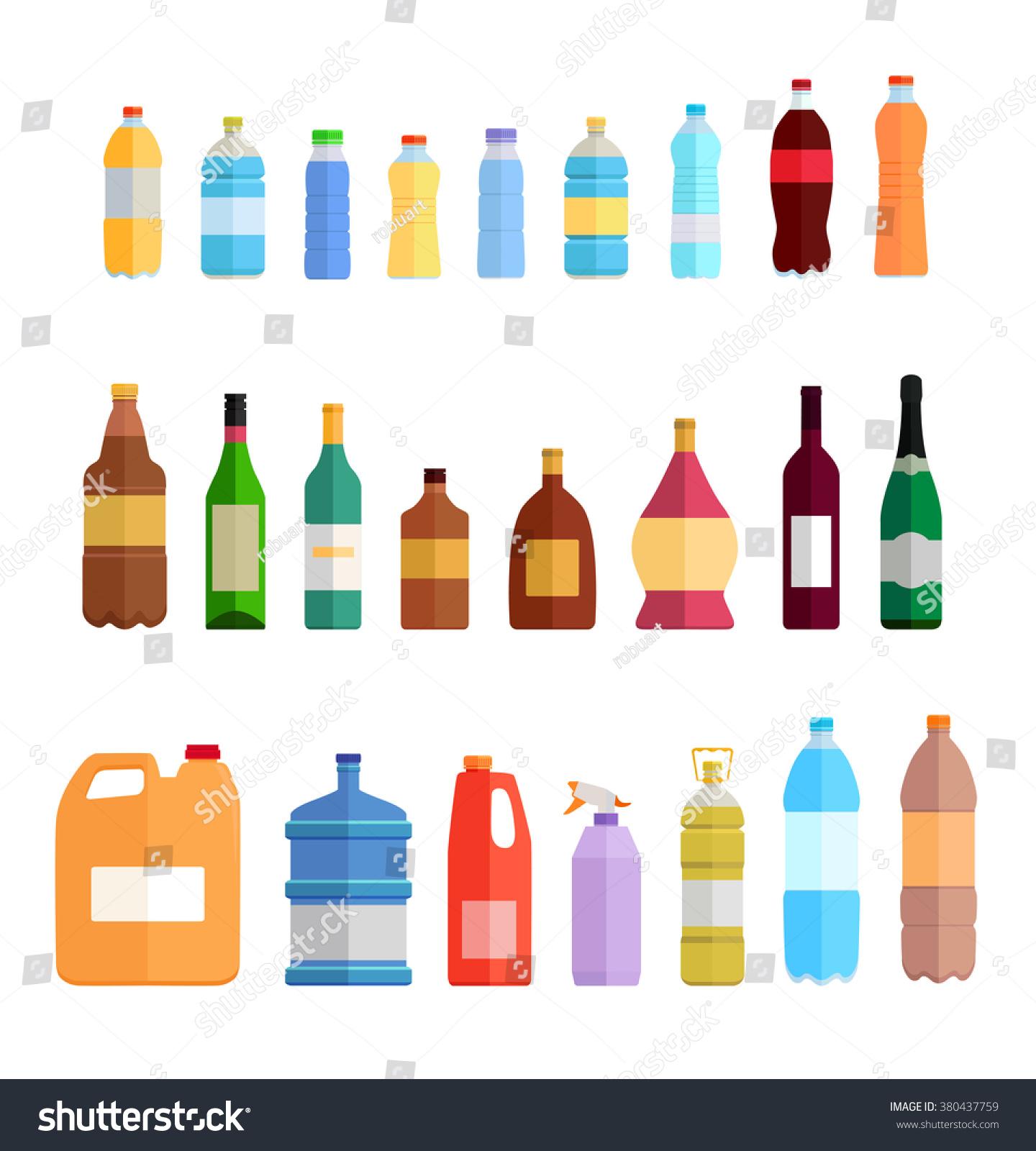 Graphic Design Water Bottles