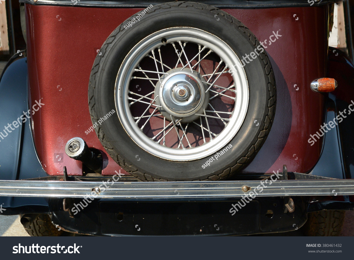 Antique Car Parts Stock Photo (Royalty Free) 380461432 - Shutterstock