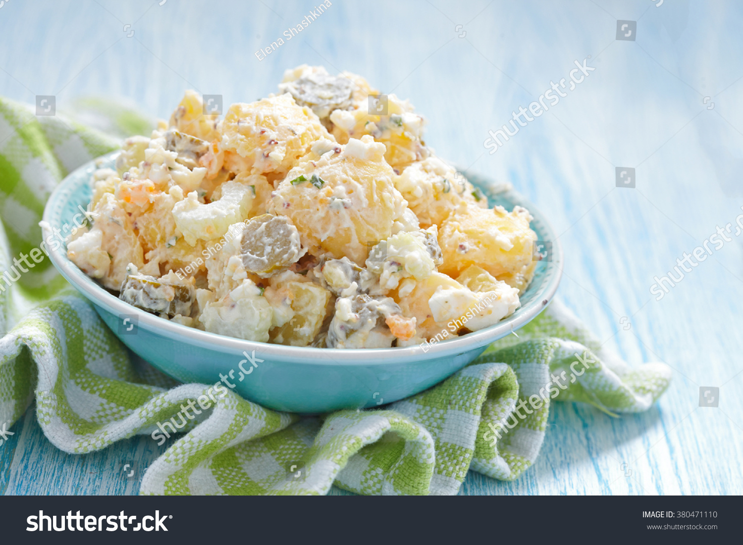 Potato Salad With Cream And Chives