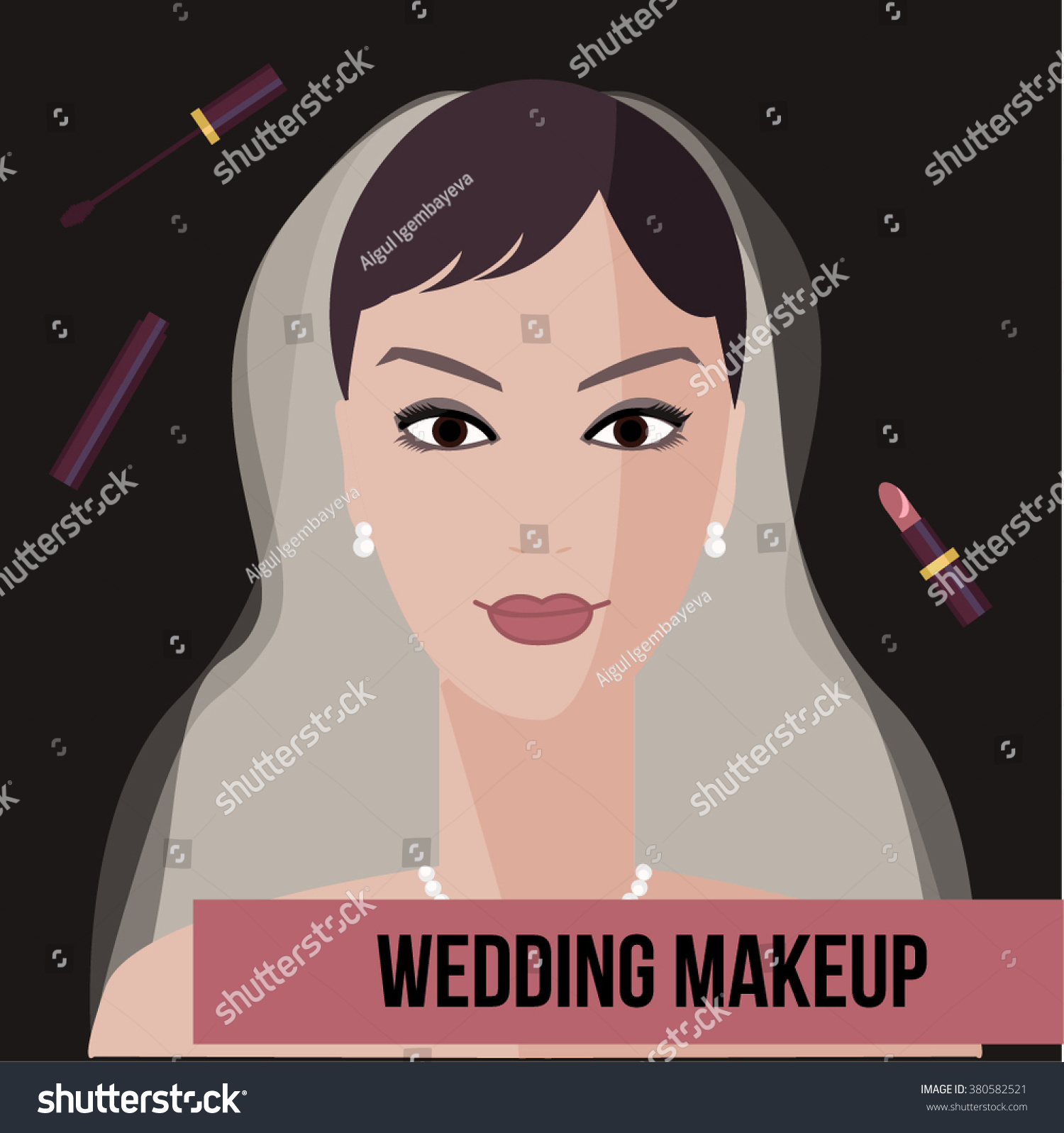 Wedding Makeup Tutorial Red Lips : Wedding Makeup Red Lips Tutorial - Mugeek Vidalondon