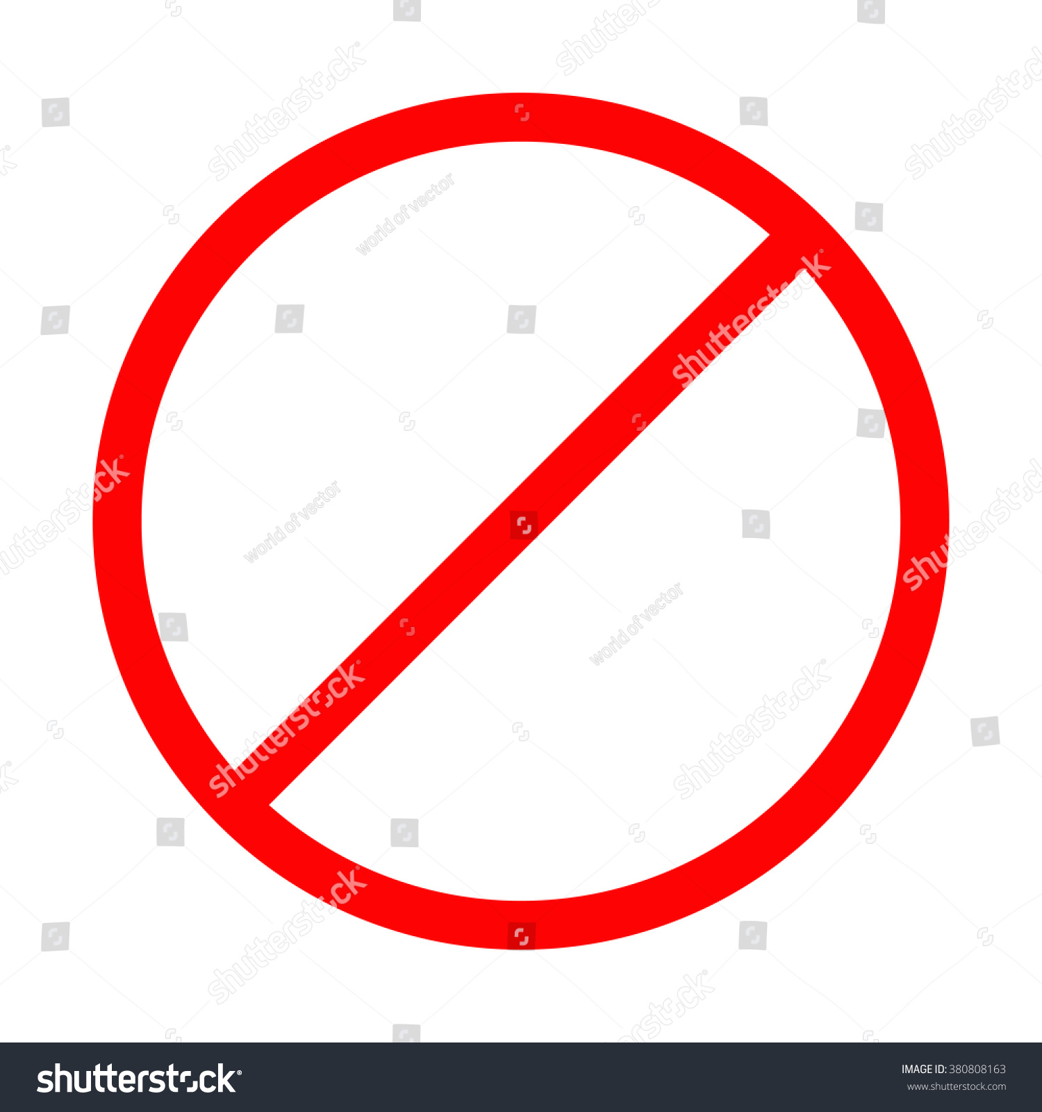No Symbol Vector | www.imgkid.com - The Image Kid Has It!