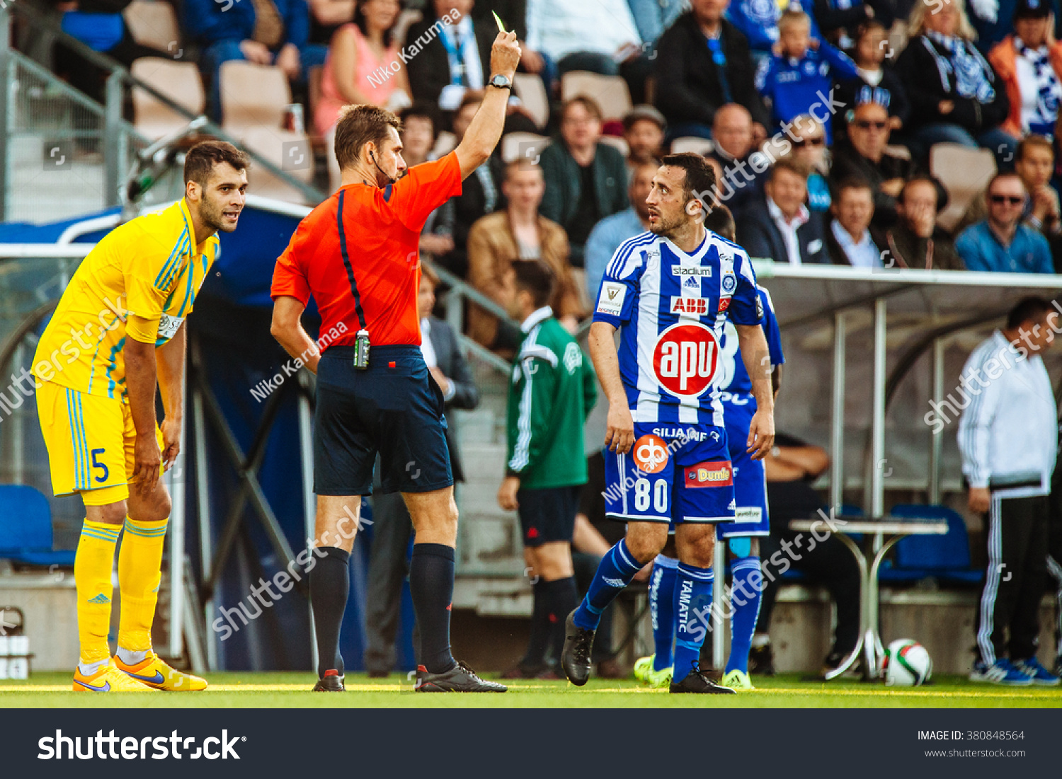 helsinki finland july 29 2015 the uefa champions league 3rd qualifying round match