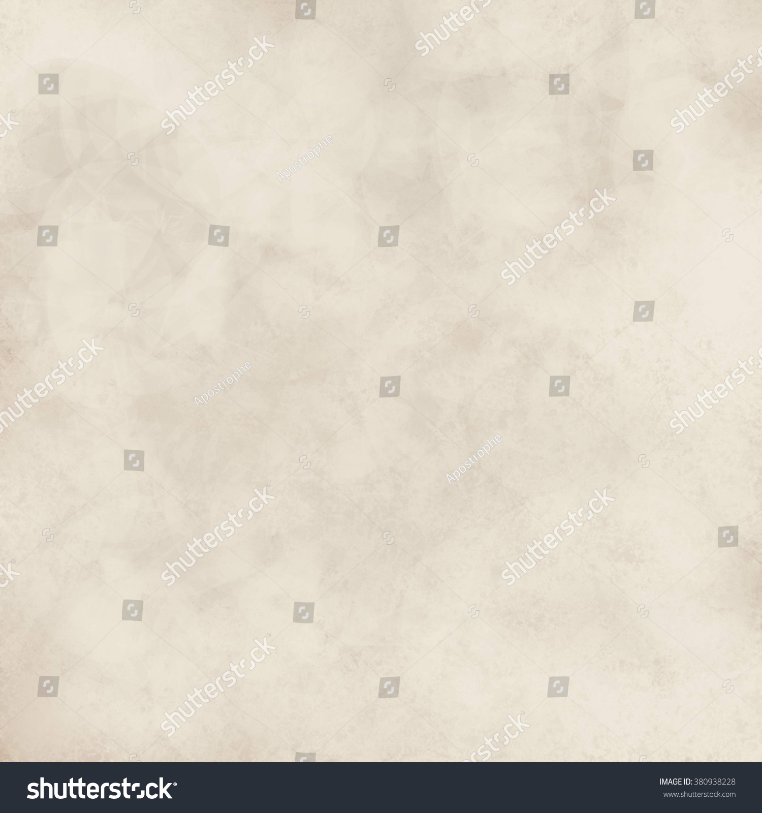 Old Vintage Textured Paper Background Faint Stock Illustration 380938228