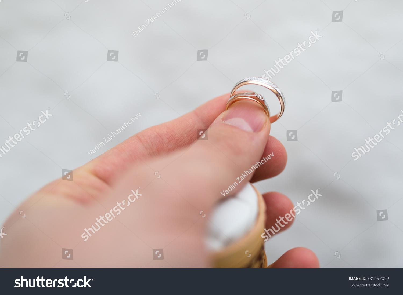 Luxury Wedding Rings Beautiful Rings Weddings Stock Photo (Royalty ...