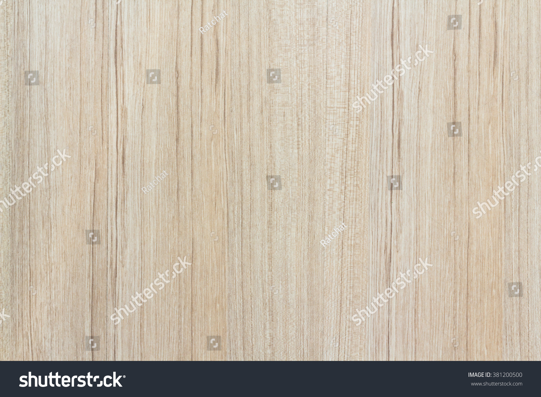 Laminate Wood Floor Light Wood Color Stock Photo 381200500