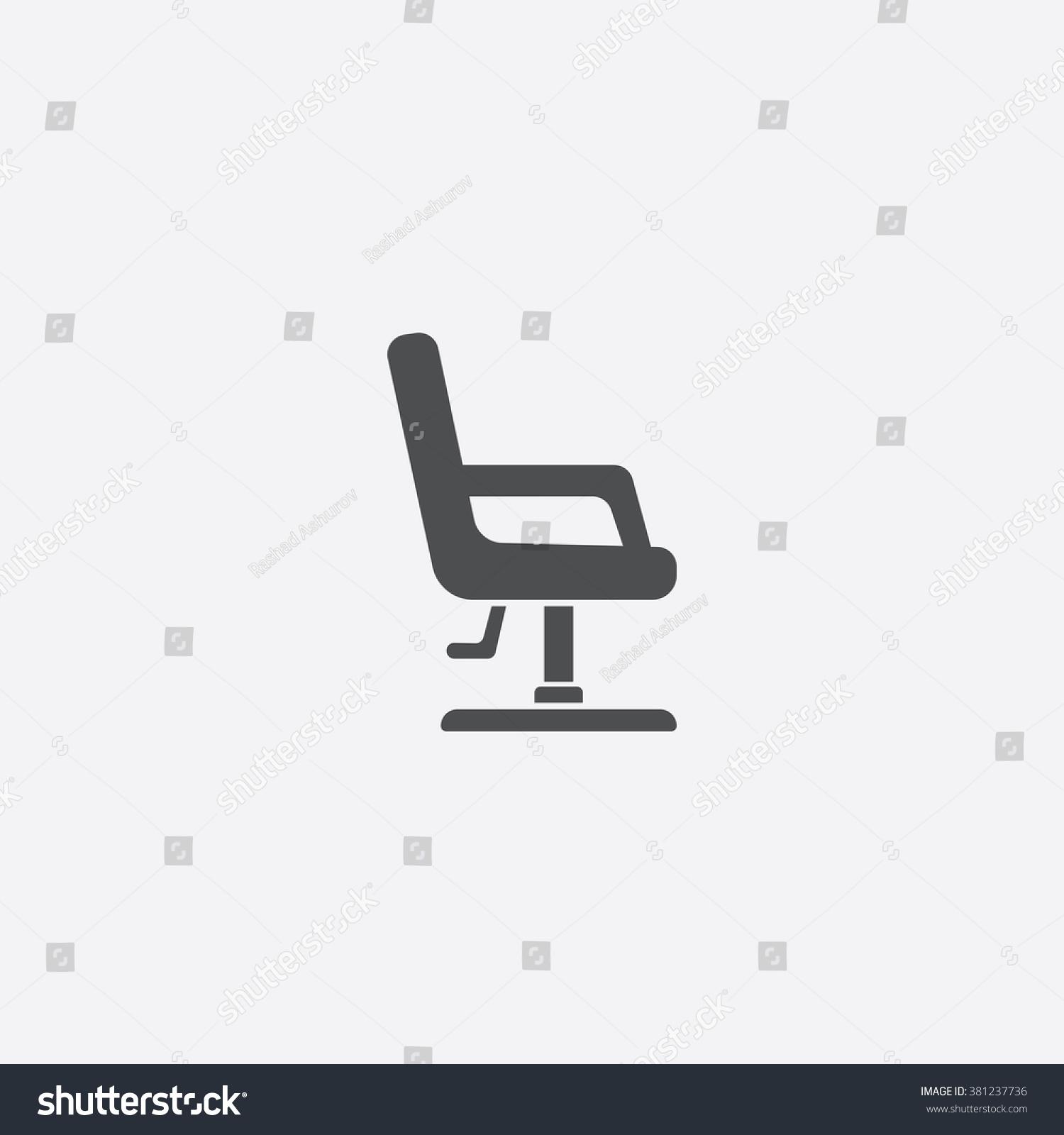 Vector fice Chair Icon Stock Vector Shutterstock