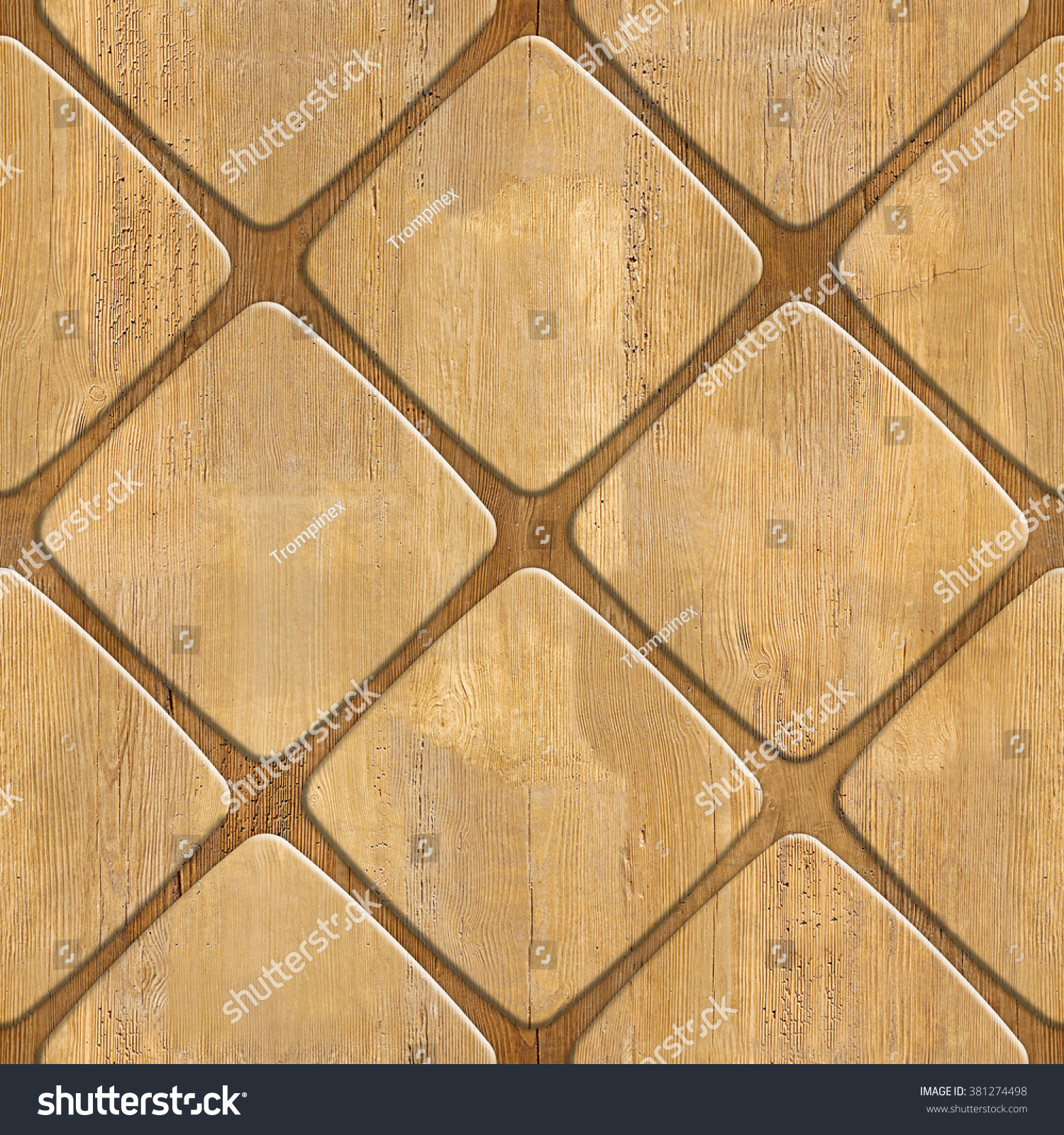 Interior Wall Panel Pattern Decorative Tile Stock Illustration ...