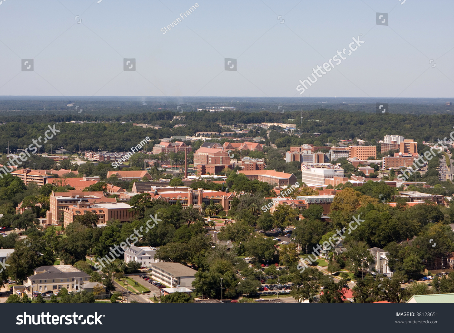 Aerial View Campus Florida State University Stock Photo Edit Now