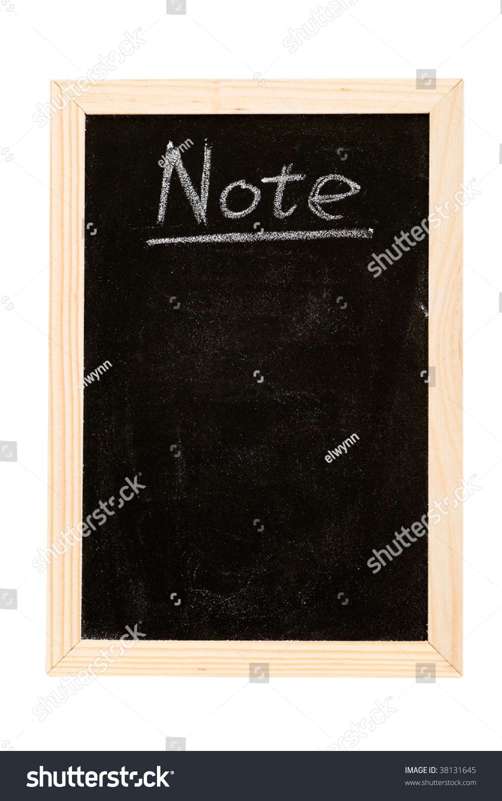 bockbord ritning ~ blackboard writing white a word of note stock photo