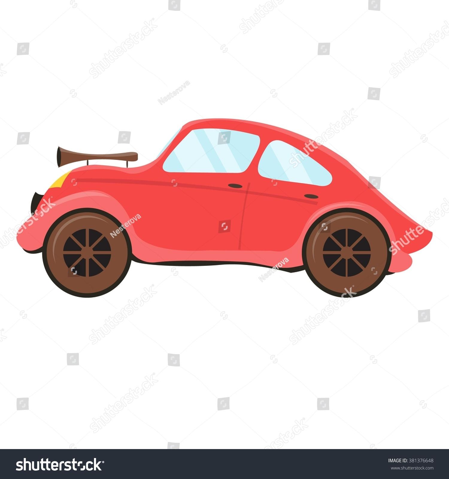 Vector Retro Cars Icon Featuring Modern Stock Vector 381376648 ...