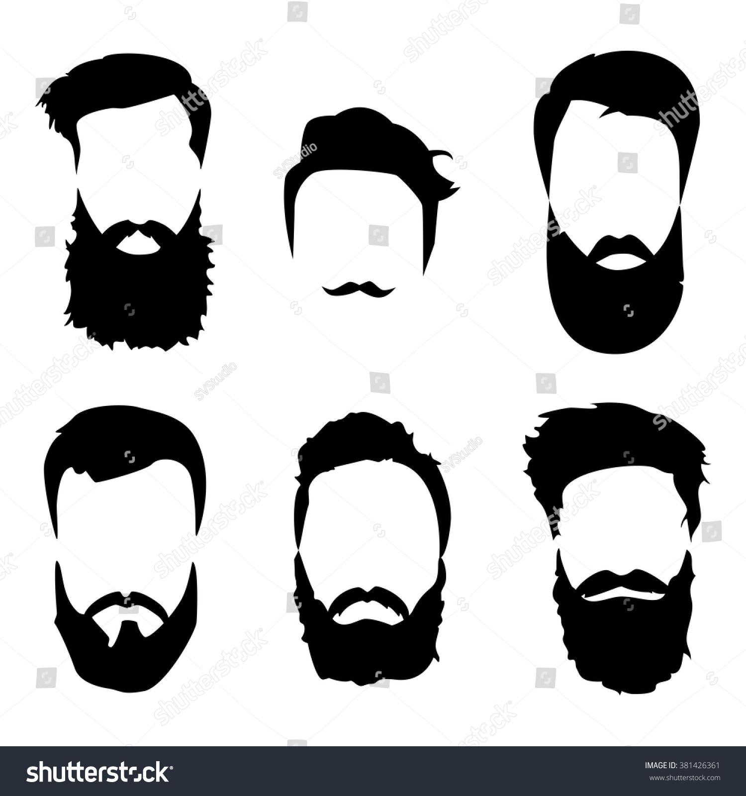 Hipster Beard Detailed...