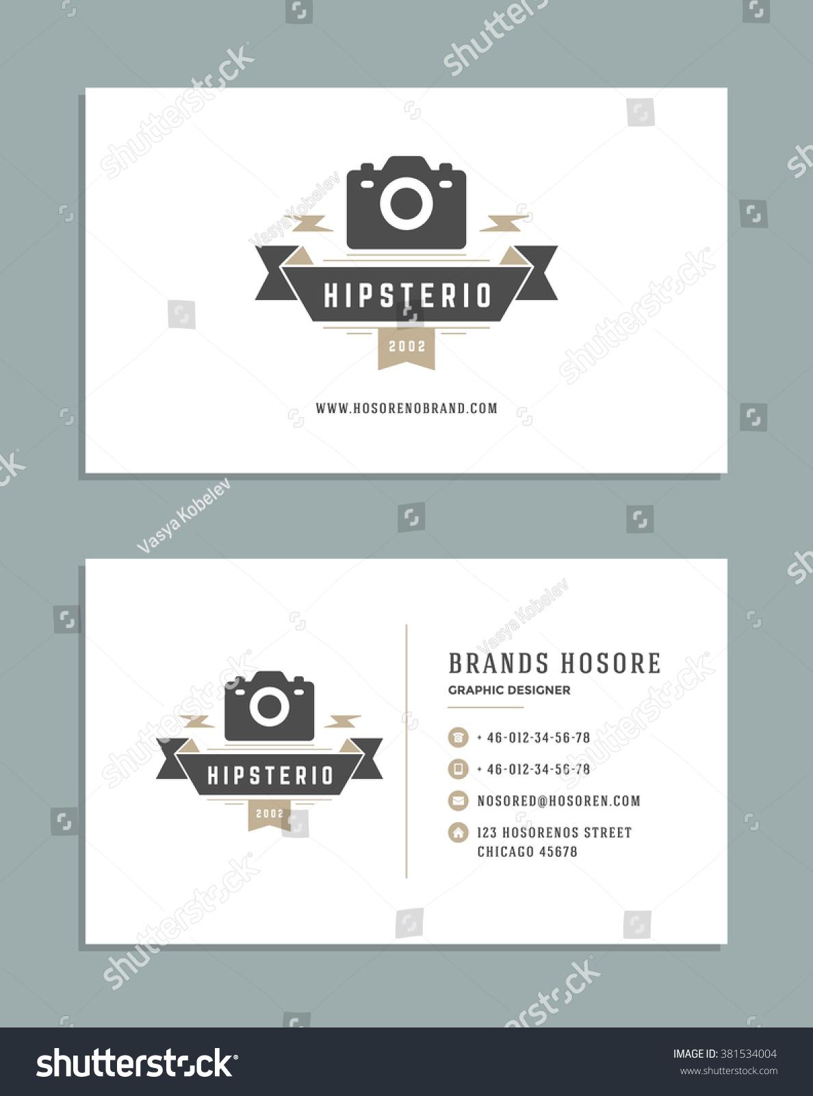 business card design photographer logo template a¹€a¸§a¸a¹€a¸•a¸a¸a¹Œa¸aa¸•a¹‡a¸a¸