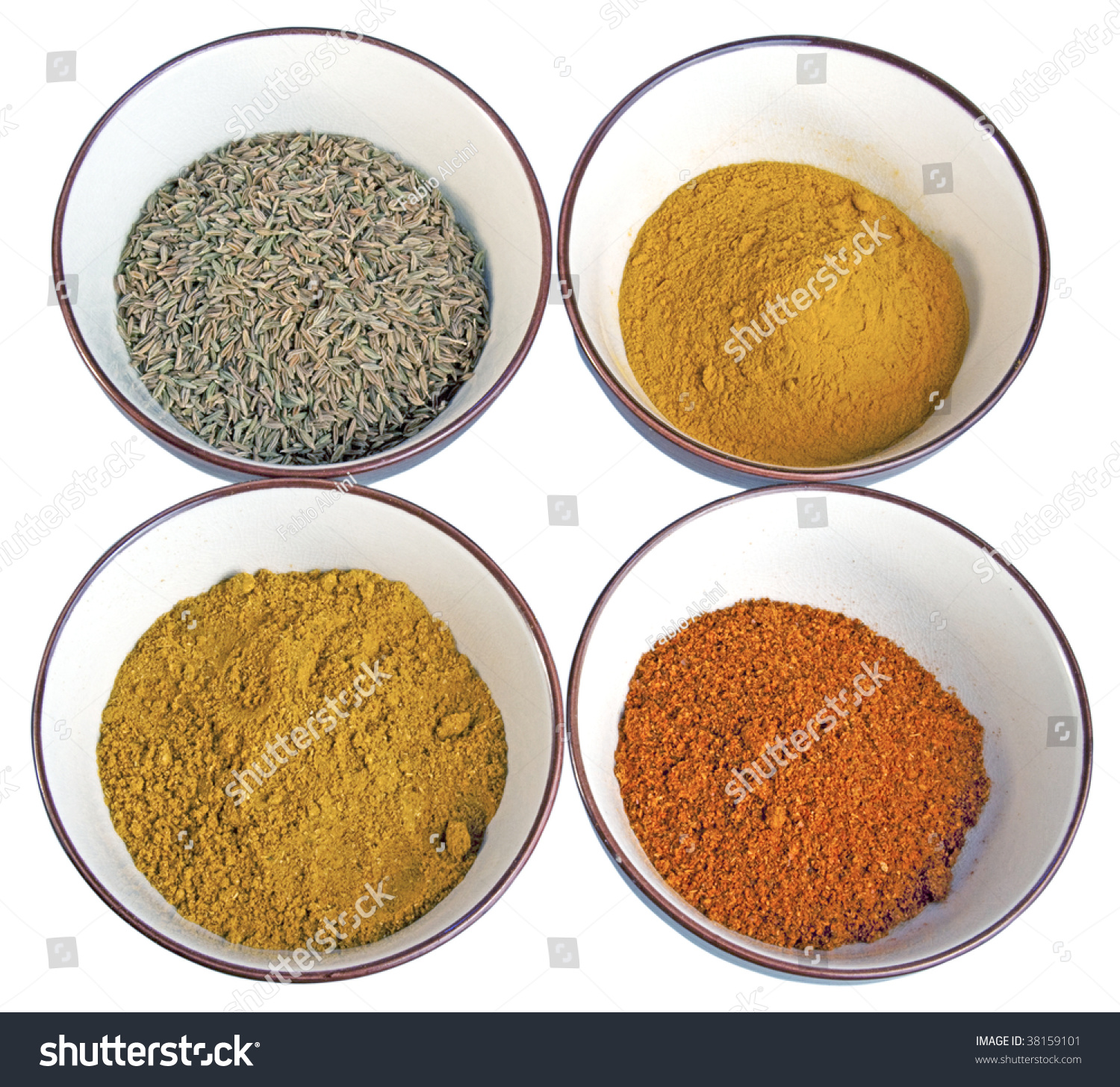 Four spices typical of indian cuisine cumin curry chili for 4 spice indian cuisine