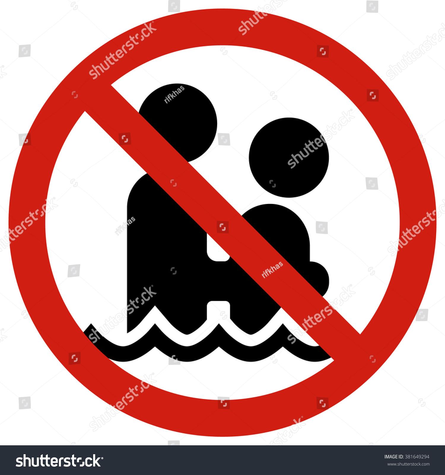 No Petting Posters Restraining Type Regulating Stock Vector 381649294 Shutterstock