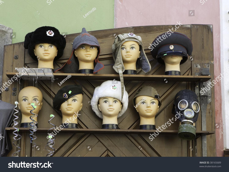 ad6c28d8747 Soviet Red Army Hats Sale Souvenir Stock Photo (Edit Now) 38165689 ...