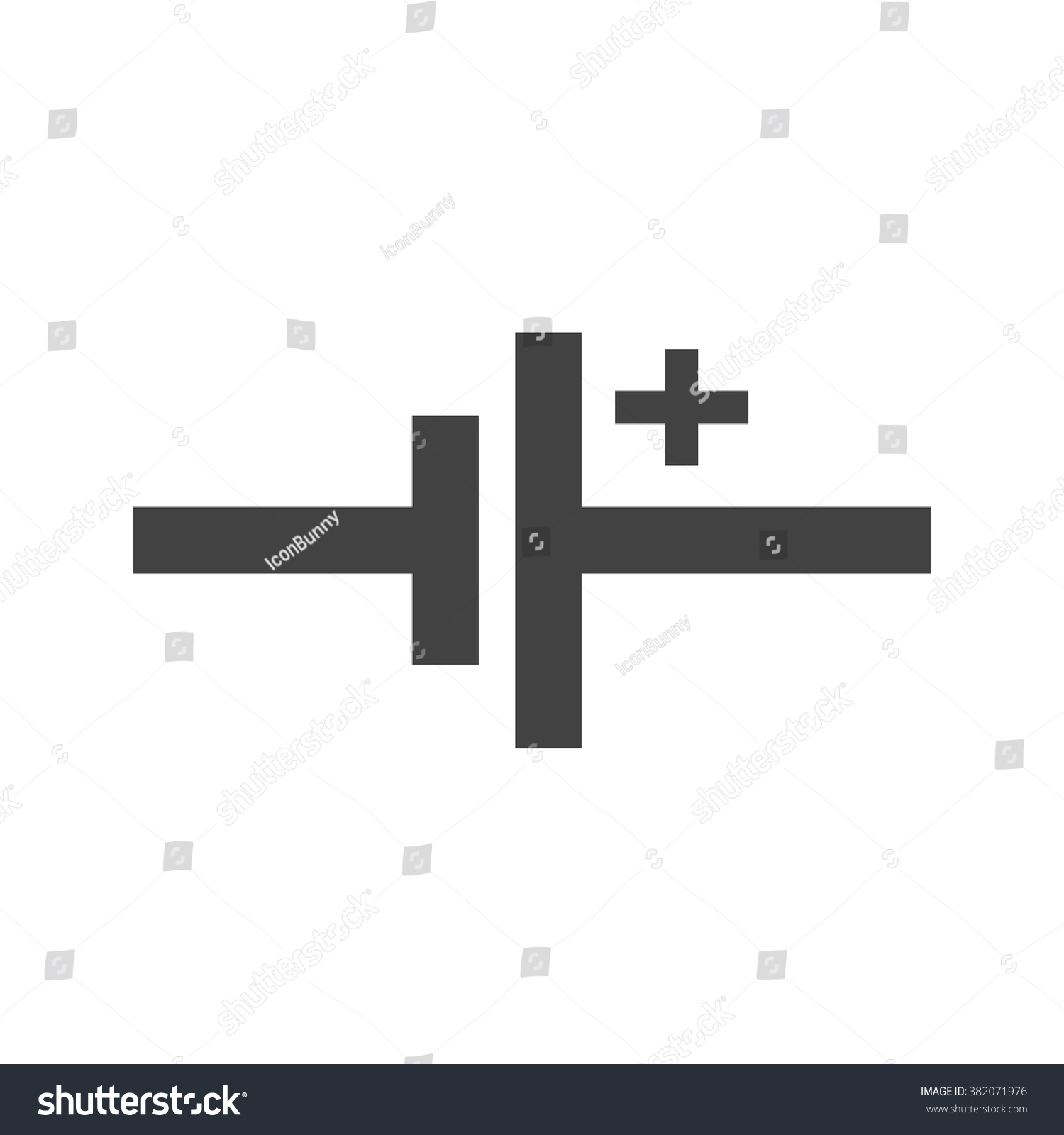 DC Voltage Source Stock Vector 382071976 - Shutterstock