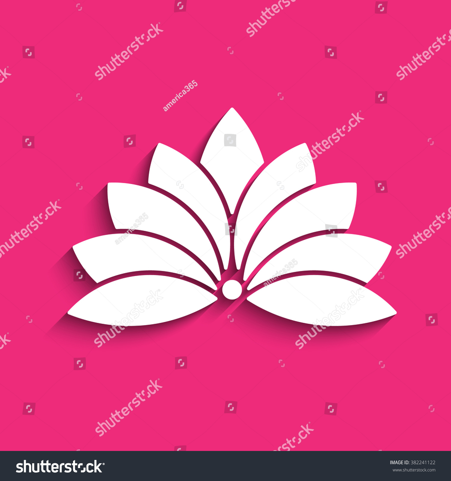Lotus flower logo concept spirituality peace stock photo photo lotus flower logo concept of spirituality peace relax vector graphic design izmirmasajfo