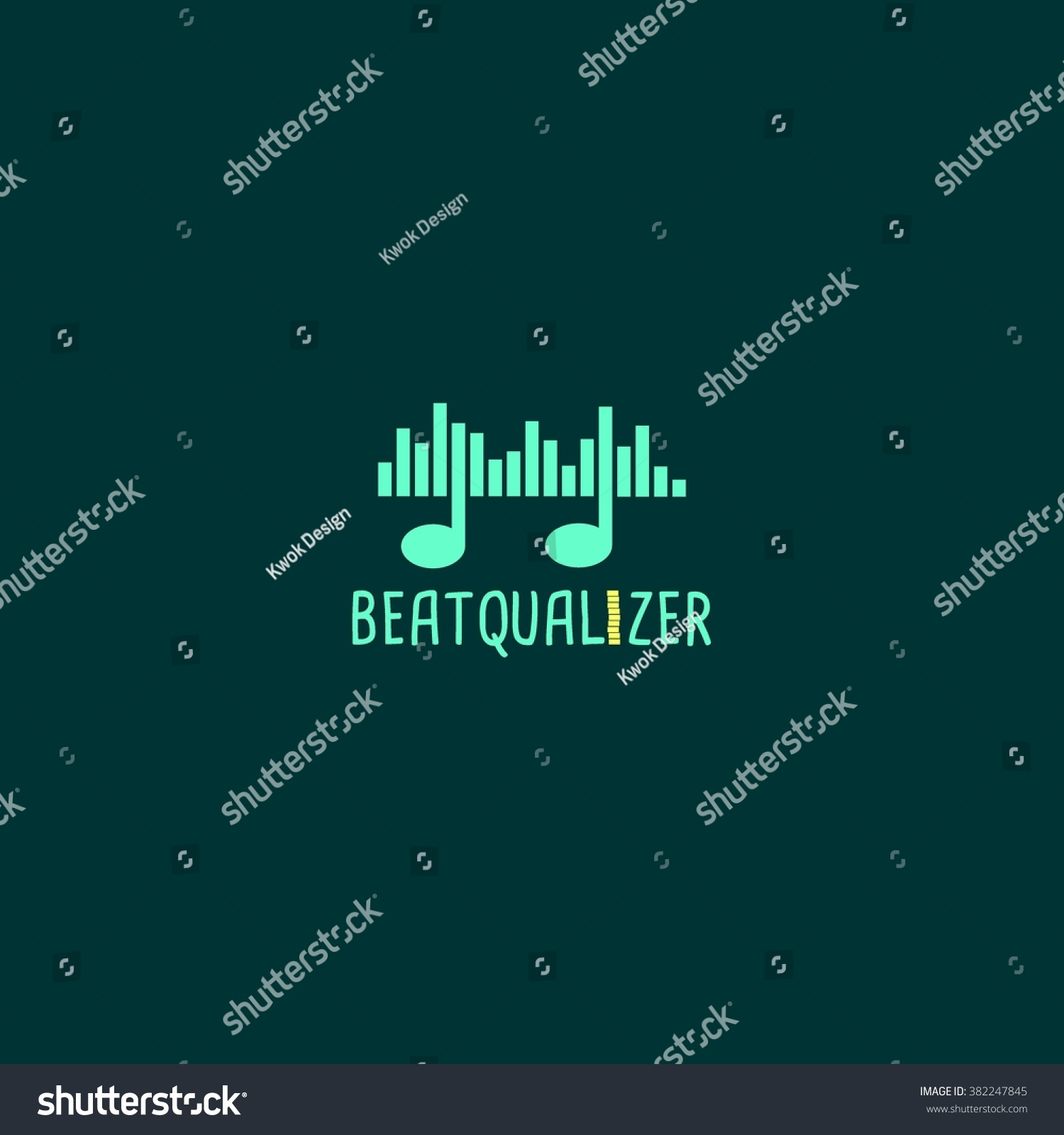 Equalizer Logo Template Design Vector Logo Stock Vector 382247845 ...